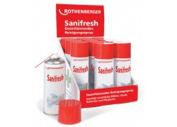 ROTHENBERGER Sanifresh klímatisztító spray, 400ml (1db/csom)